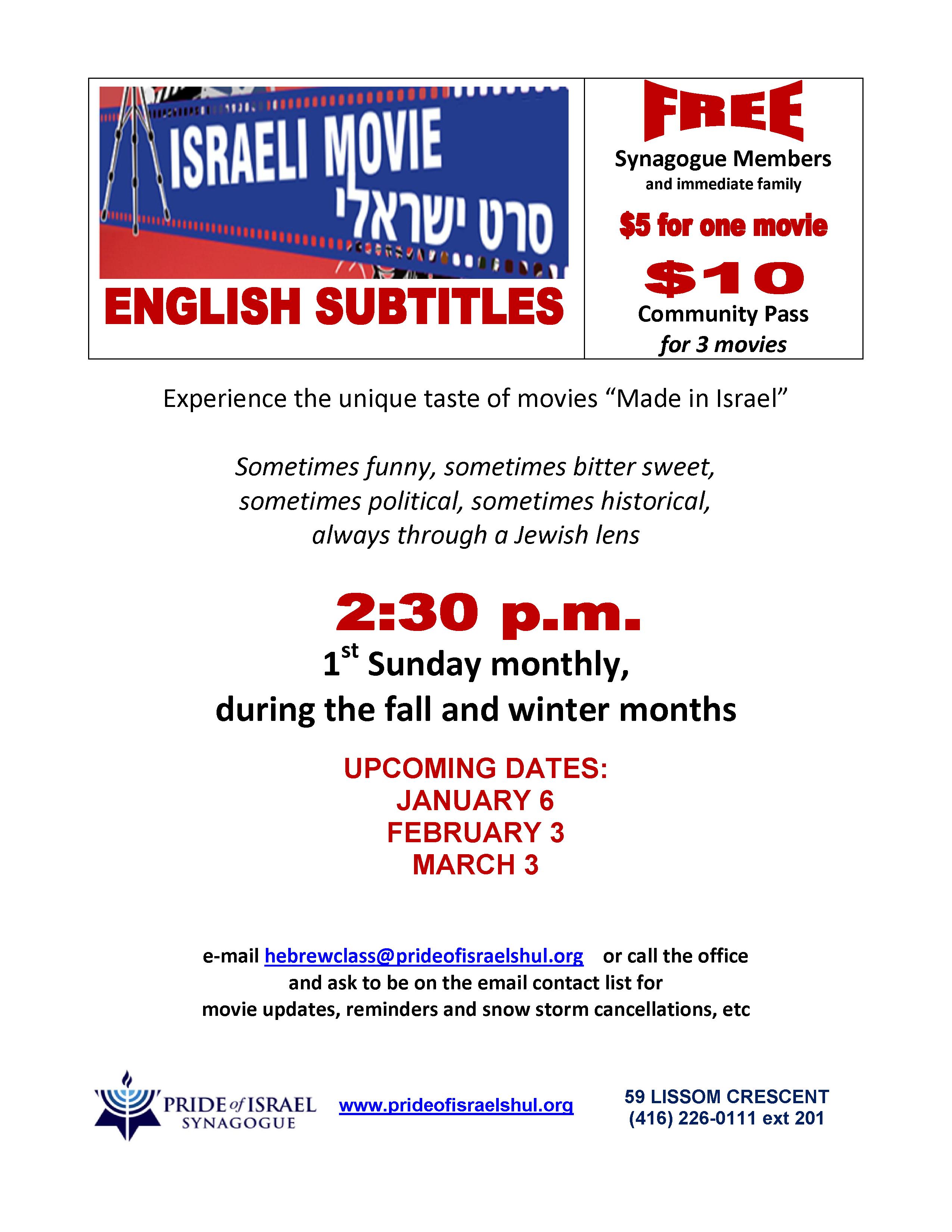 Social Programs Pride Of Israel
